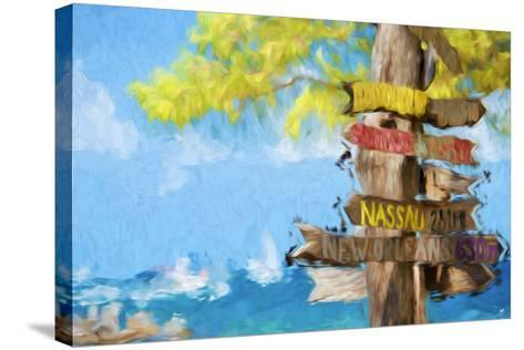 Destinations III - In the Style of Oil Painting-Philippe Hugonnard-Stretched Canvas Print