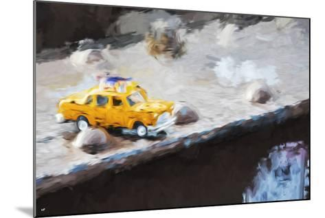 Taxi Bridge - In the Style of Oil Painting-Philippe Hugonnard-Mounted Giclee Print
