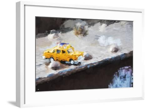 Taxi Bridge - In the Style of Oil Painting-Philippe Hugonnard-Framed Art Print