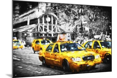 72 Taxis Station II - In the Style of Oil Painting-Philippe Hugonnard-Mounted Giclee Print
