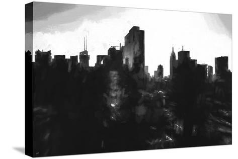 Against Day New York-Philippe Hugonnard-Stretched Canvas Print