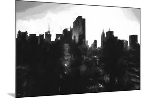 Against Day New York-Philippe Hugonnard-Mounted Giclee Print