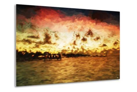 Key West Pier II - In the Style of Oil Painting-Philippe Hugonnard-Metal Print