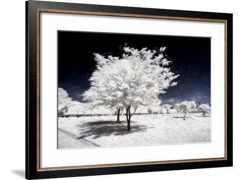 Beauty Winter III - In the Style of Oil Painting-Philippe Hugonnard-Framed Art Print