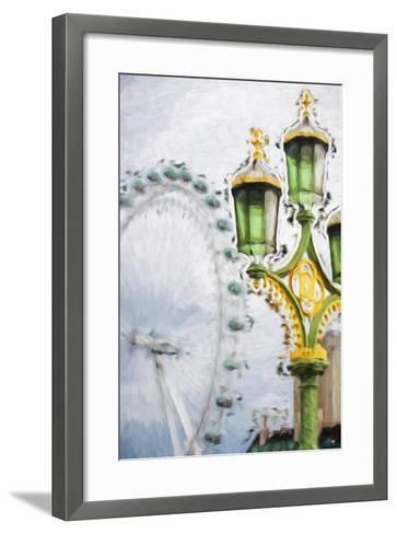 Royal Lamppost - In the Style of Oil Painting-Philippe Hugonnard-Framed Art Print