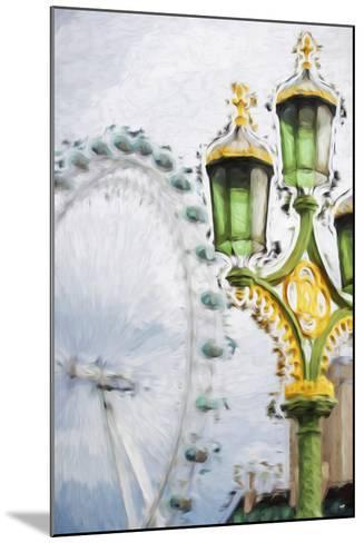 Royal Lamppost - In the Style of Oil Painting-Philippe Hugonnard-Mounted Giclee Print