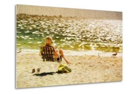 Relaxing Day II - In the Style of Oil Painting-Philippe Hugonnard-Metal Print