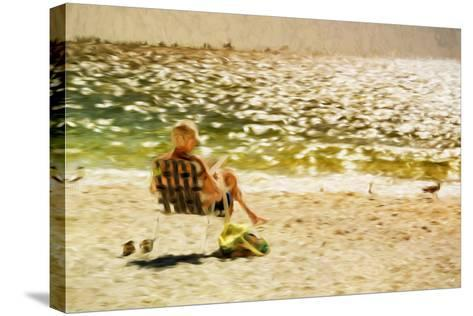 Relaxing Day II - In the Style of Oil Painting-Philippe Hugonnard-Stretched Canvas Print