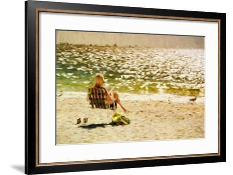 Relaxing Day II - In the Style of Oil Painting-Philippe Hugonnard-Framed Art Print