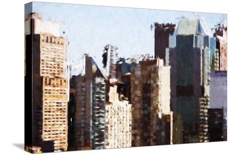 Skyscrapers Collection III - In the Style of Oil Painting-Philippe Hugonnard-Stretched Canvas Print