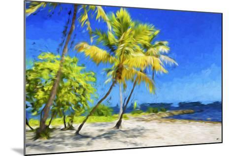 Quiet Beach III - In the Style of Oil Painting-Philippe Hugonnard-Mounted Giclee Print
