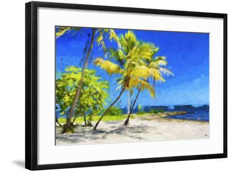 Quiet Beach III - In the Style of Oil Painting-Philippe Hugonnard-Framed Art Print