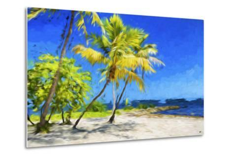 Quiet Beach III - In the Style of Oil Painting-Philippe Hugonnard-Metal Print