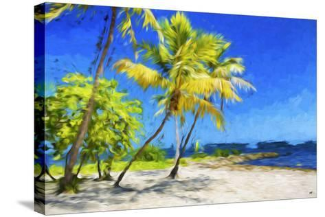 Quiet Beach III - In the Style of Oil Painting-Philippe Hugonnard-Stretched Canvas Print