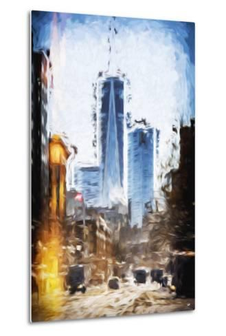 World Trade - In the Style of Oil Painting-Philippe Hugonnard-Metal Print