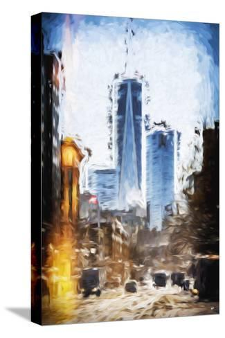 World Trade - In the Style of Oil Painting-Philippe Hugonnard-Stretched Canvas Print