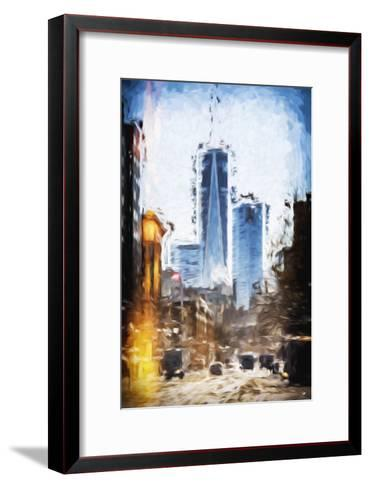 World Trade - In the Style of Oil Painting-Philippe Hugonnard-Framed Art Print