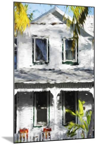 Colonial House V - In the Style of Oil Painting-Philippe Hugonnard-Mounted Giclee Print
