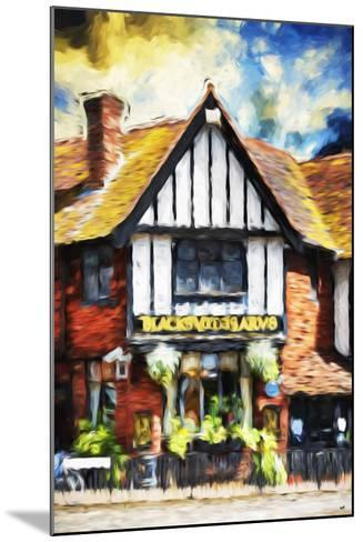 Black Inn - In the Style of Oil Painting-Philippe Hugonnard-Mounted Giclee Print