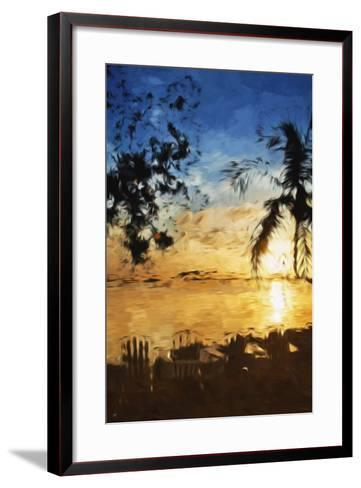 Tranquility II - In the Style of Oil Painting-Philippe Hugonnard-Framed Art Print