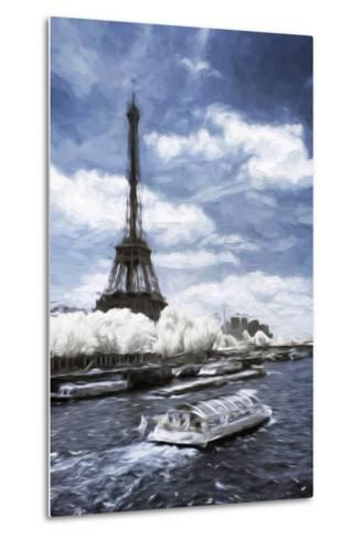 Boat Trip - In the Style of Oil Painting-Philippe Hugonnard-Metal Print