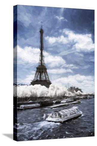 Boat Trip - In the Style of Oil Painting-Philippe Hugonnard-Stretched Canvas Print