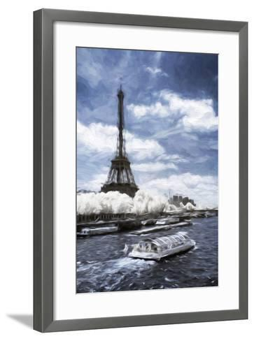 Boat Trip - In the Style of Oil Painting-Philippe Hugonnard-Framed Art Print
