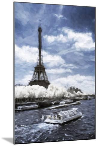 Boat Trip - In the Style of Oil Painting-Philippe Hugonnard-Mounted Giclee Print