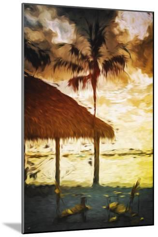 Sunset Hot Sun - In the Style of Oil Painting-Philippe Hugonnard-Mounted Giclee Print