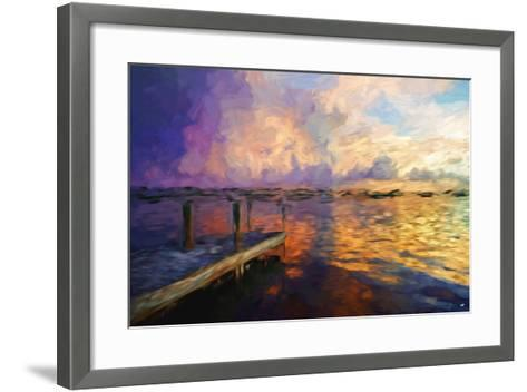 Mysterious Sunset II - In the Style of Oil Painting-Philippe Hugonnard-Framed Art Print