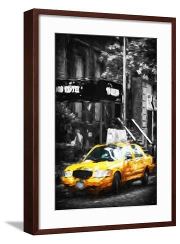 108 Fifth II - In the Style of Oil Painting-Philippe Hugonnard-Framed Art Print