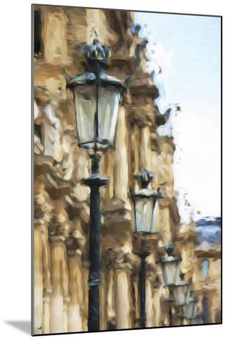 France Architecture - In the Style of Oil Painting-Philippe Hugonnard-Mounted Giclee Print