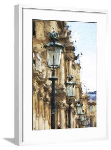 France Architecture - In the Style of Oil Painting-Philippe Hugonnard-Framed Art Print