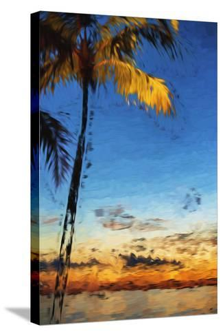 Peaceful - In the Style of Oil Painting-Philippe Hugonnard-Stretched Canvas Print