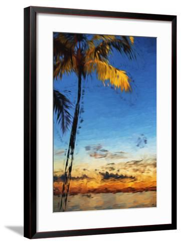 Peaceful - In the Style of Oil Painting-Philippe Hugonnard-Framed Art Print