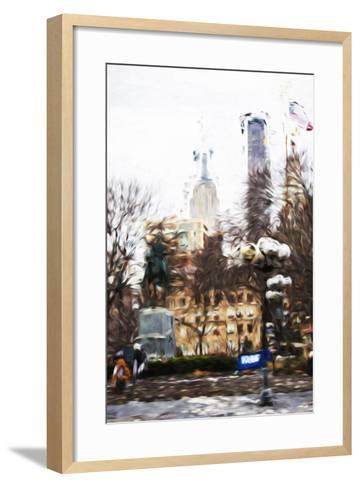 Sunday Afternoon - In the Style of Oil Painting-Philippe Hugonnard-Framed Art Print