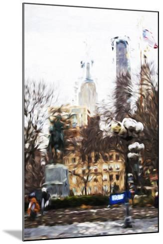 Sunday Afternoon - In the Style of Oil Painting-Philippe Hugonnard-Mounted Giclee Print