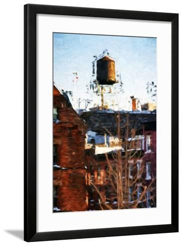 Brooklyn Tank - In the Style of Oil Painting-Philippe Hugonnard-Framed Art Print