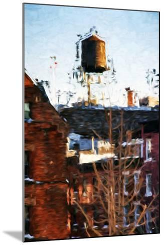 Brooklyn Tank - In the Style of Oil Painting-Philippe Hugonnard-Mounted Giclee Print