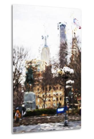 Sunday Afternoon - In the Style of Oil Painting-Philippe Hugonnard-Metal Print