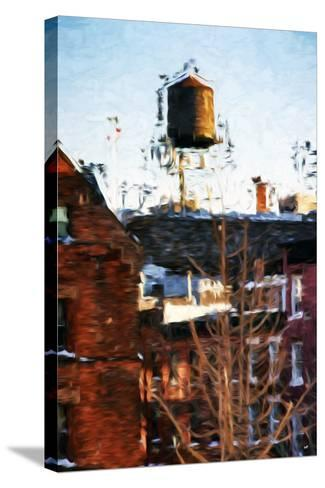 Brooklyn Tank - In the Style of Oil Painting-Philippe Hugonnard-Stretched Canvas Print