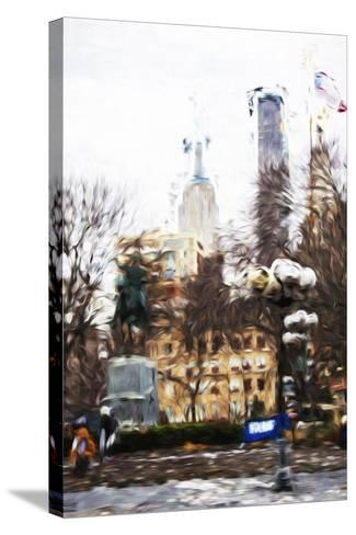 Sunday Afternoon - In the Style of Oil Painting-Philippe Hugonnard-Stretched Canvas Print