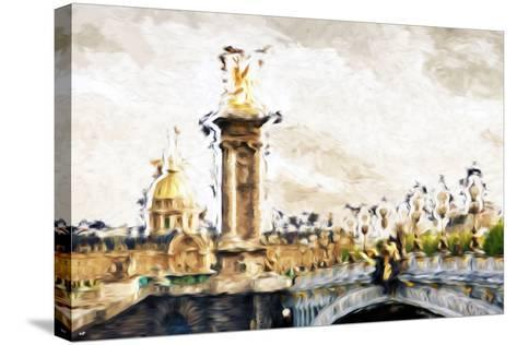 Paris Dreams - In the Style of Oil Painting-Philippe Hugonnard-Stretched Canvas Print