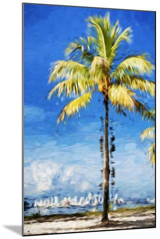 View Miami - In the Style of Oil Painting-Philippe Hugonnard-Mounted Giclee Print