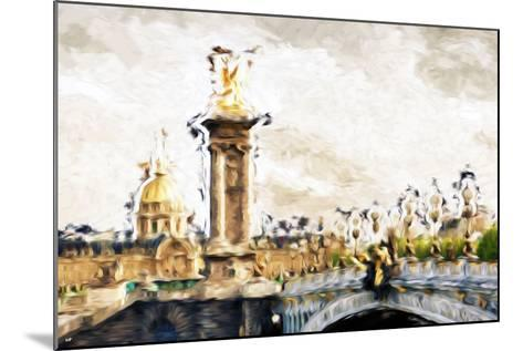 Paris Dreams - In the Style of Oil Painting-Philippe Hugonnard-Mounted Giclee Print