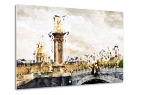 Paris Dreams - In the Style of Oil Painting-Philippe Hugonnard-Metal Print