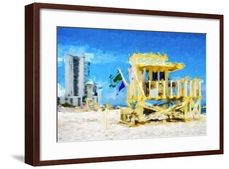 South Beach Miami IV - In the Style of Oil Painting-Philippe Hugonnard-Framed Art Print