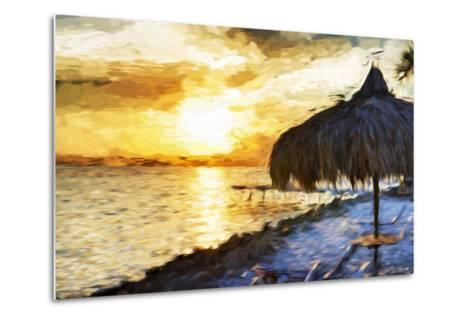 Sunset Trip - In the Style of Oil Painting-Philippe Hugonnard-Metal Print