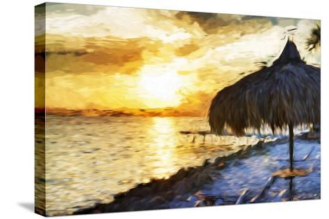 Sunset Trip - In the Style of Oil Painting-Philippe Hugonnard-Stretched Canvas Print