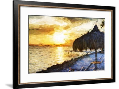 Sunset Trip - In the Style of Oil Painting-Philippe Hugonnard-Framed Art Print